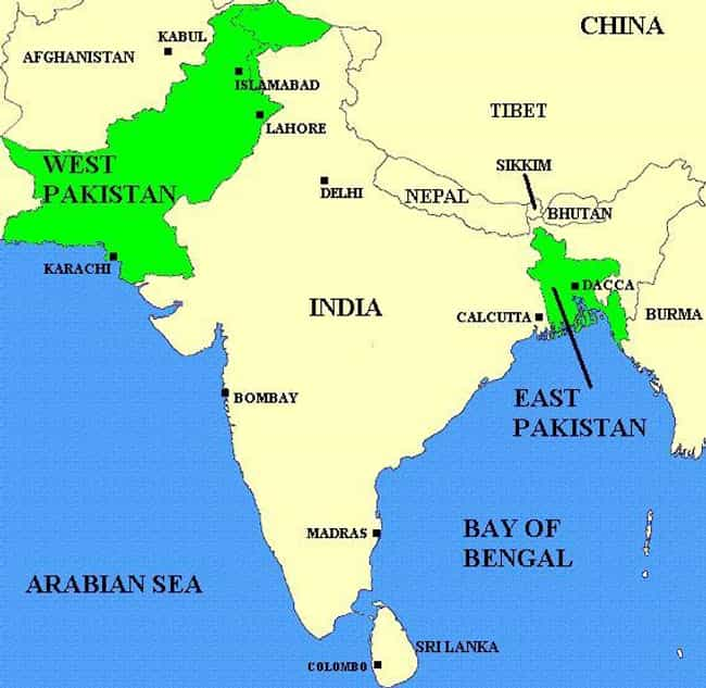 Indo-Pakistani Naval War of 19... is listed (or ranked) 3 on the list List Of Bangladesh Liberation War Battles