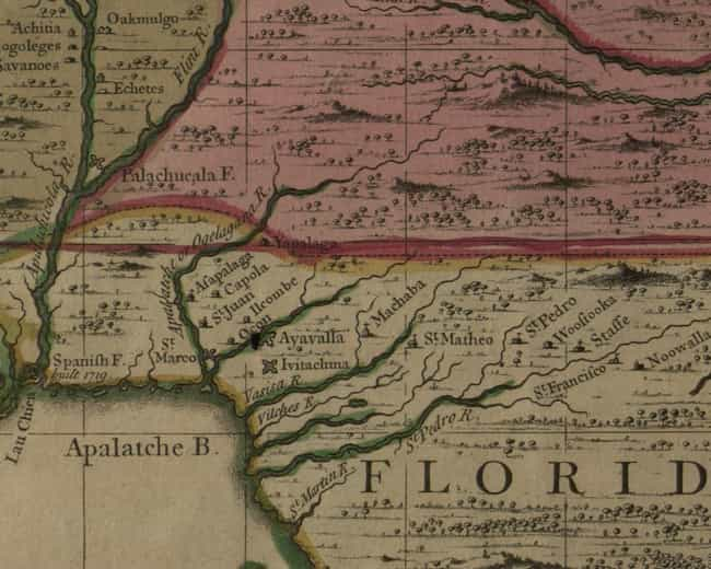 Apalachee massacre is listed (or ranked) 1 on the list List Of Queen Anne's War Battles