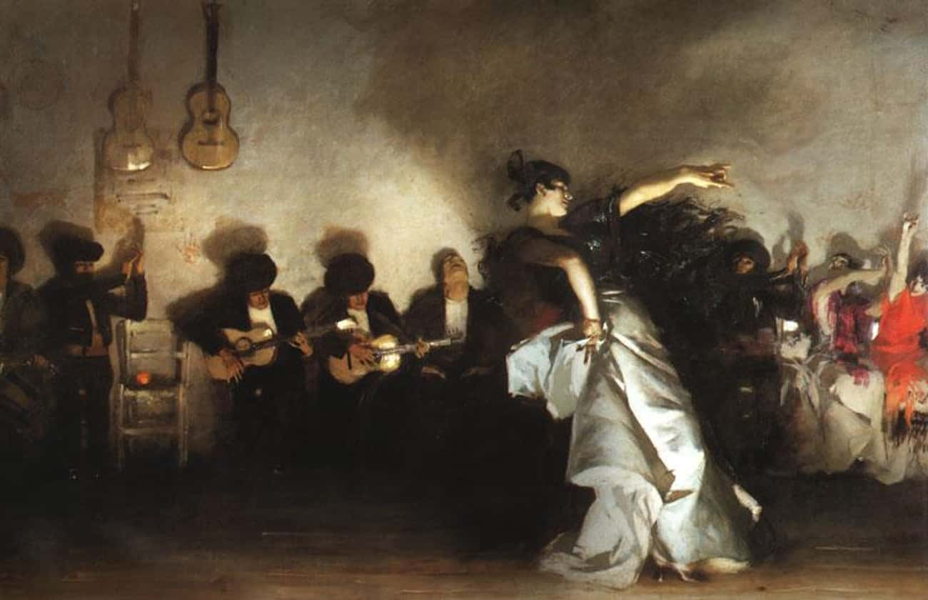 El Jaleo is listed (or ranked) 4 on the list Famous John Singer Sargent Paintings
