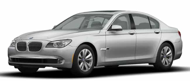 2012 BMW 7 Series is listed (or ranked) 1 on the list The Best BMW 7 Series of All Time