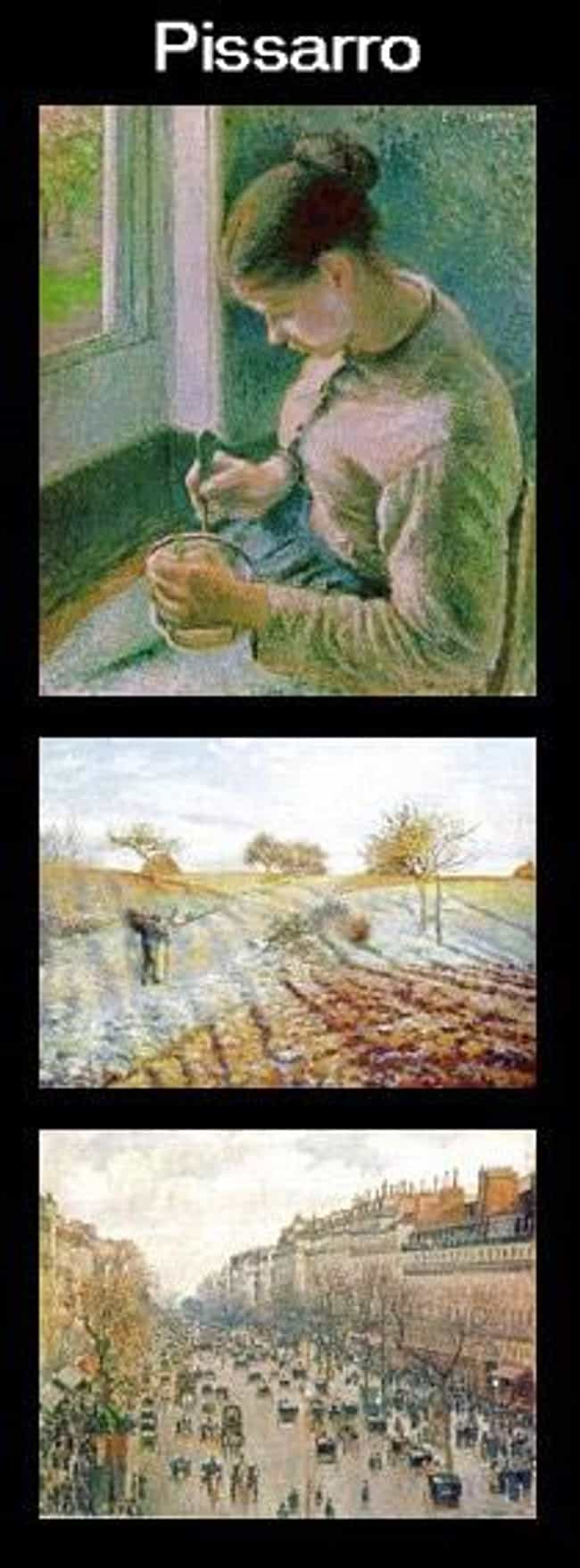 Camille Pissarro is listed (or ranked) 4 on the list Famous Male Printmakers