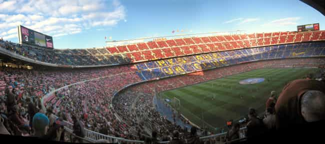 Camp Nou is listed (or ranked) 3 on the list List of Famous Barcelona Buildings & Structures