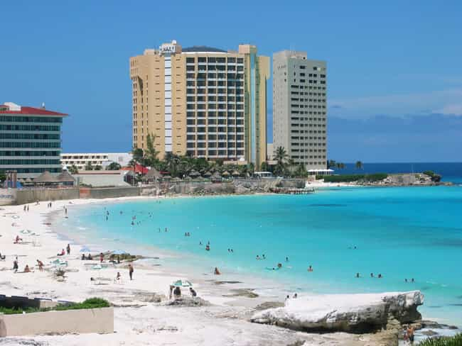 Cancún is listed (or ranked) 2 on the list The Best Beach Cities in the World