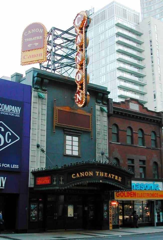 Ed Mirvish Theatre is listed (or ranked) 3 on the list List of Thomas W. Lamb Architecture