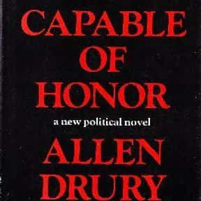 Capable of Honor is listed (or ranked) 8 on the list The Best Selling Novels of the 1960s
