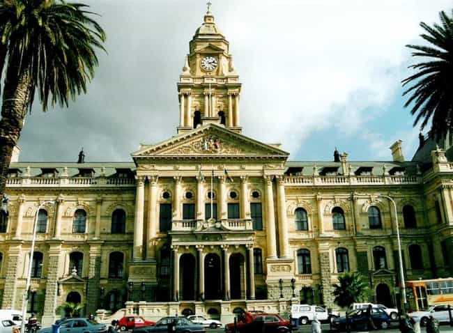 Cape Town City Hall is listed (or ranked) 3 on the list Famous Edwardian architecture buildings