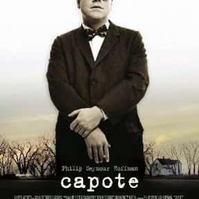 Capote is listed (or ranked) 9 on the list The Best Movies Based on Real Murders