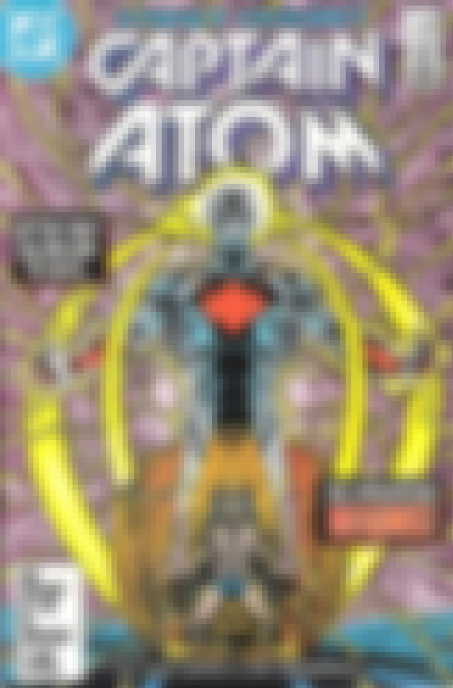 Captain Atom is listed (or ranked) 1 on the list Nuclear-Themed Comic Book Characters