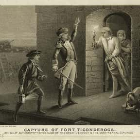 Capture of Fort Ticonderoga is listed (or ranked) 18 on the list The Most Important Battles in US History