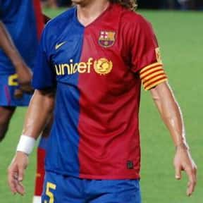 Carles Puyol is listed (or ranked) 12 on the list The Best Soccer Players of All Time