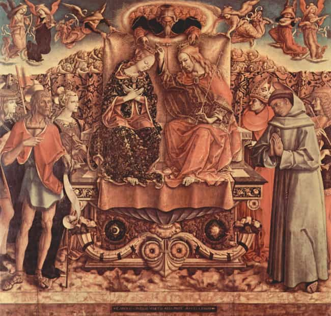 Carlo Crivelli Is Listed Or Ranked 2 On The List Famous Gothic Artists