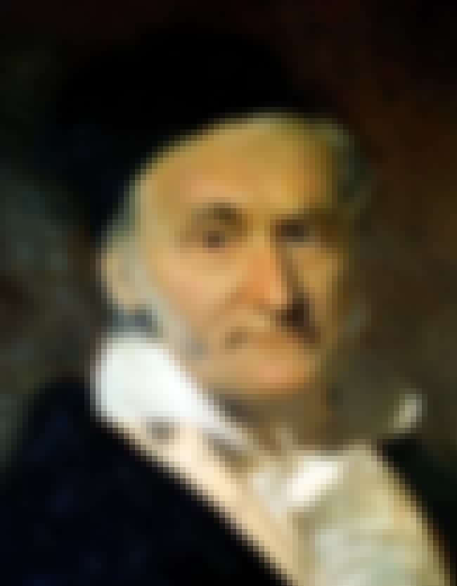 Carl Friedrich Gauss is listed (or ranked) 6 on the list Famous Mathematicians from Germany