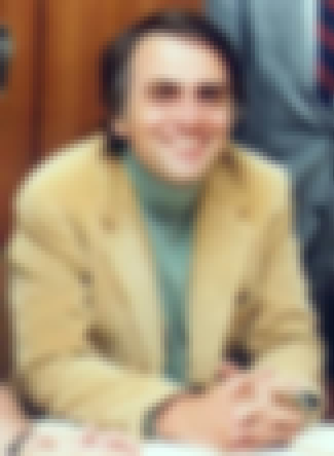 Carl Sagan is listed (or ranked) 7 on the list List of Famous Professors