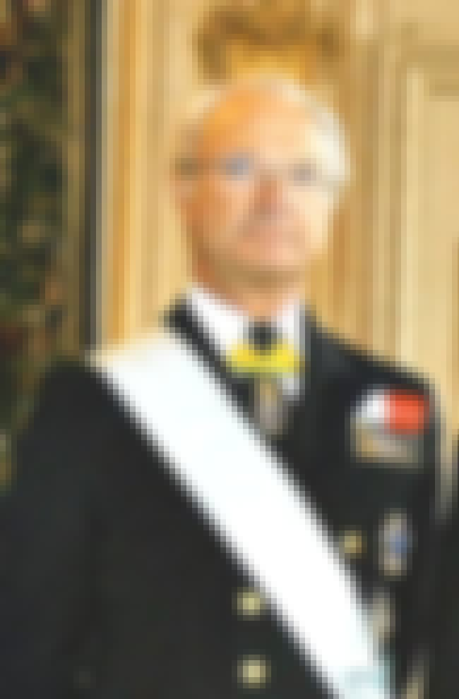 Carl XVI Gustaf of Sweden is listed (or ranked) 4 on the list Members of the Swedish Royal Family