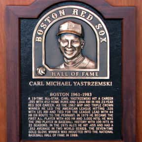 Carl Yastrzemski is listed (or ranked) 7 on the list Famous People Named Carl or Karl