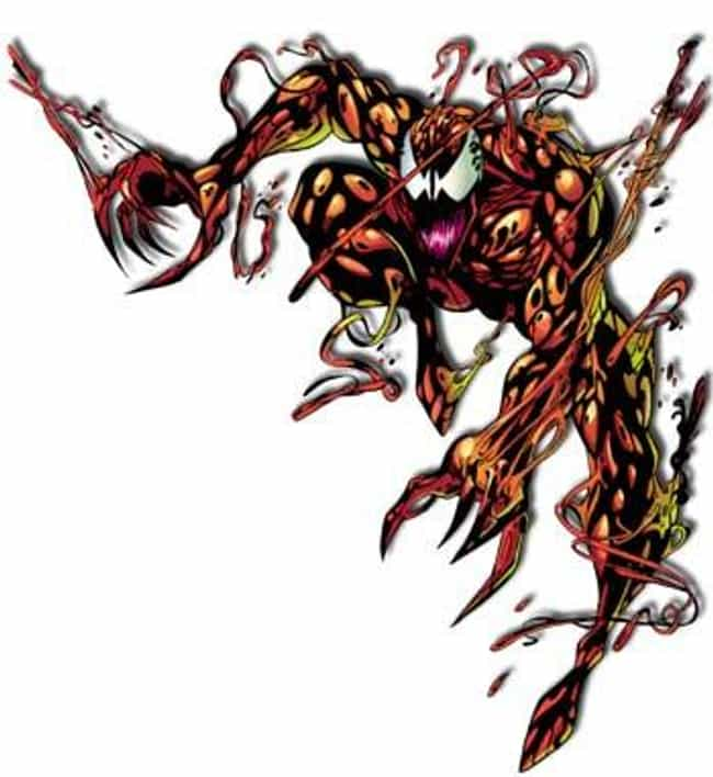 Carnage is listed (or ranked) 2 on the list The Most Terrifying & Scariest Villains In Comics