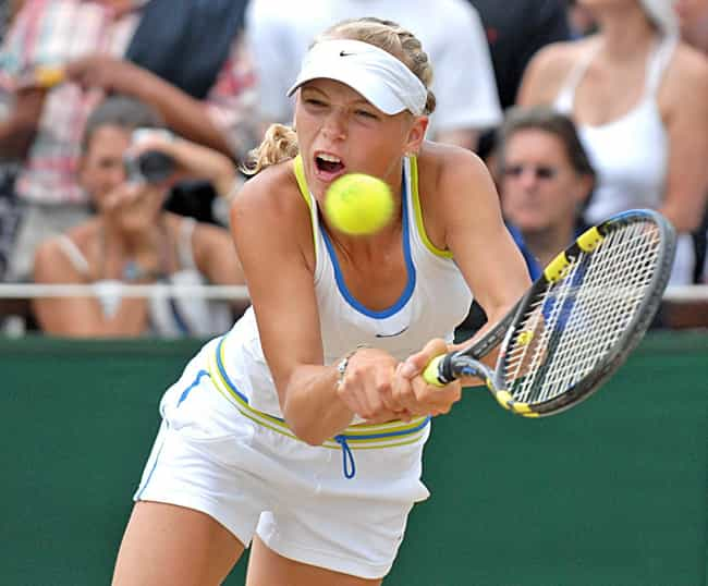 Caroline Wozniacki is listed (or ranked) 1 on the list The Best Tennis Players from Denmark