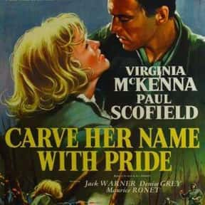 Carve Her Name with Pride is listed (or ranked) 20 on the list The Best '50s Spy Movies