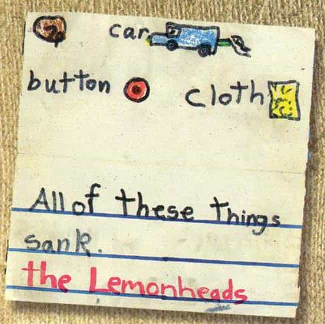 Car Button Cloth is listed (or ranked) 3 on the list The Best Lemonheads Albums of All Time
