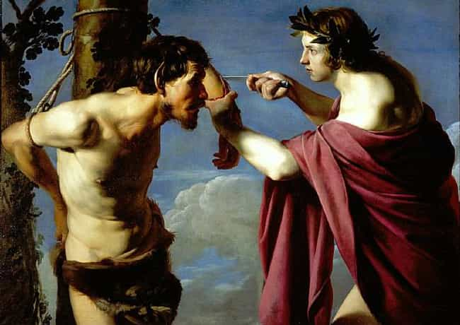 Apollo and Marsyas is listed (or ranked) 2 on the list Famous Bartolomeo Manfredi Paintings