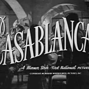 Casablanca is listed (or ranked) 4 on the list Romance Movies and Films