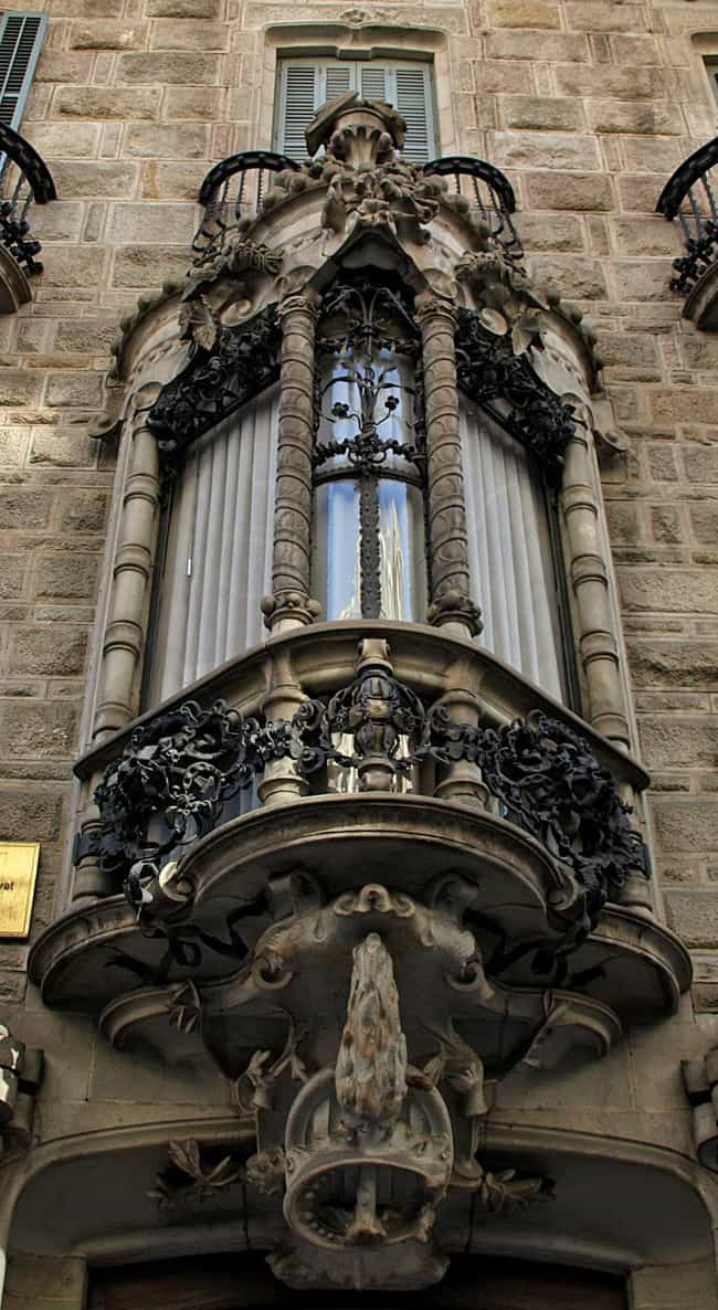 Casa Calvet Is Listed Or Ranked 5 On The List Of Famous Barcelona