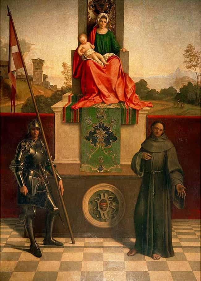 Castelfranco Madonna is listed (or ranked) 4 on the list Famous Madonna and Child Art
