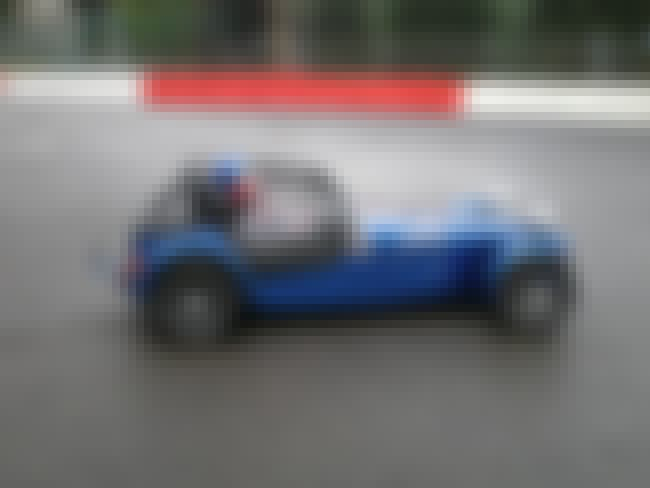 Caterham 7 is listed (or ranked) 3 on the list The Top Gear Car of the Year