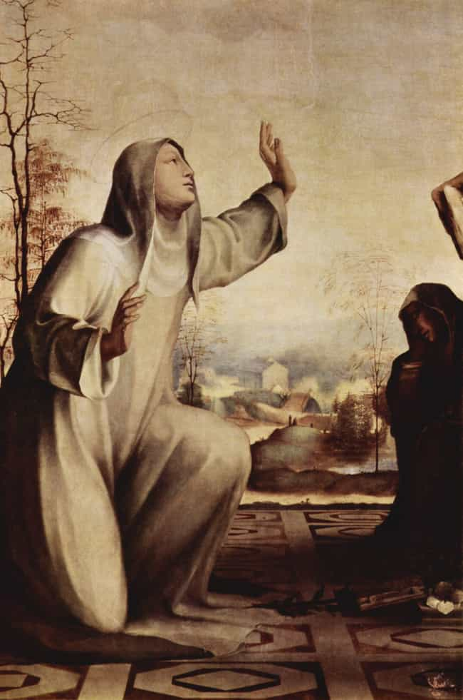 Catherine of Siena is listed (or ranked) 1 on the list Ancient and Medieval Saints Who Tested Themselves In Bizarre And Disgusting Ways