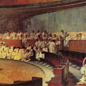 Catiline is listed (or ranked) 1 on the list Famous Politicians from Roman Republic