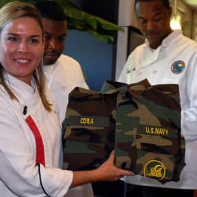 Cat Cora is listed (or ranked) 17 on the list List of Famous Chefs