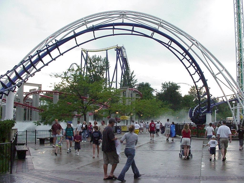 Image of Random Best Theme Parks For Roller Coaster Junkies