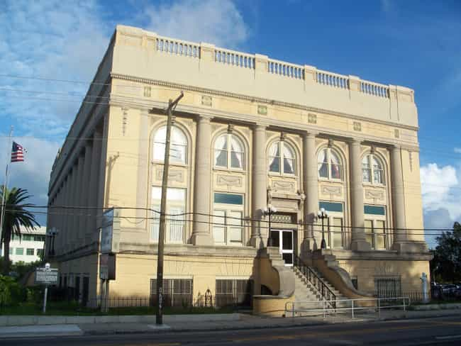 Centro Asturiano de Tamp... is listed (or ranked) 4 on the list List of Famous Tampa Buildings & Structures