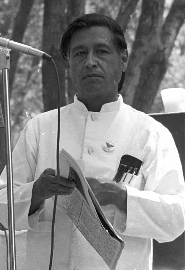 Cesar Chavez is listed (or ranked) 3 on the list Famous People Born in 1927