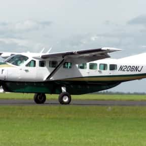 Cessna 208 Caravan is listed (or ranked) 1 on the list List of All Turboprop Types