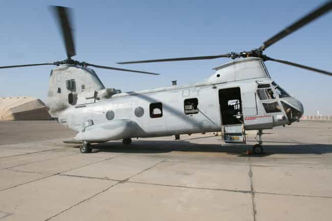 Boeing Vertol CH-46 Sea Knight is listed (or ranked) 2 on the list Planes Used By Swedish Air Force