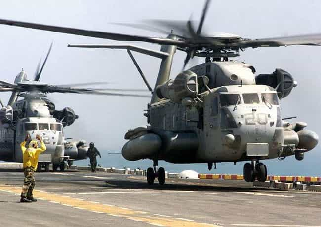 Sikorsky CH-53E Super Stallion is listed (or ranked) 3 on the list Sikorsky Aircraft Airplanes and Aircrafts