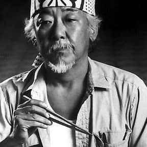 Mr. Kesuke Miyagi is listed (or ranked) 25 on the list The Best Movie Characters Of All Time