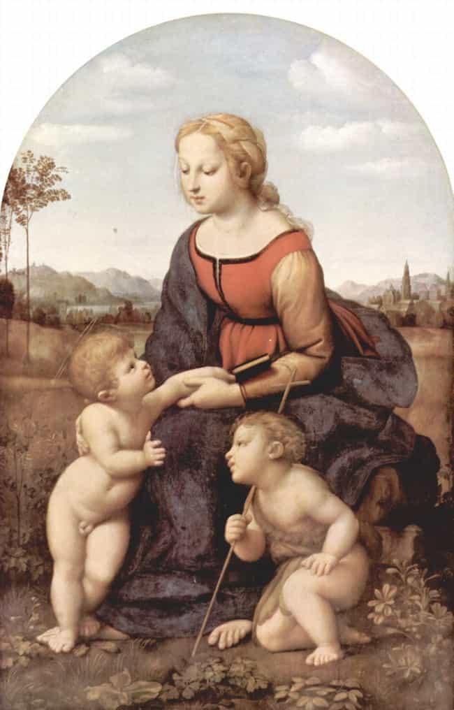 La belle jardinière is listed (or ranked) 2 on the list Famous High Renaissance Artwork