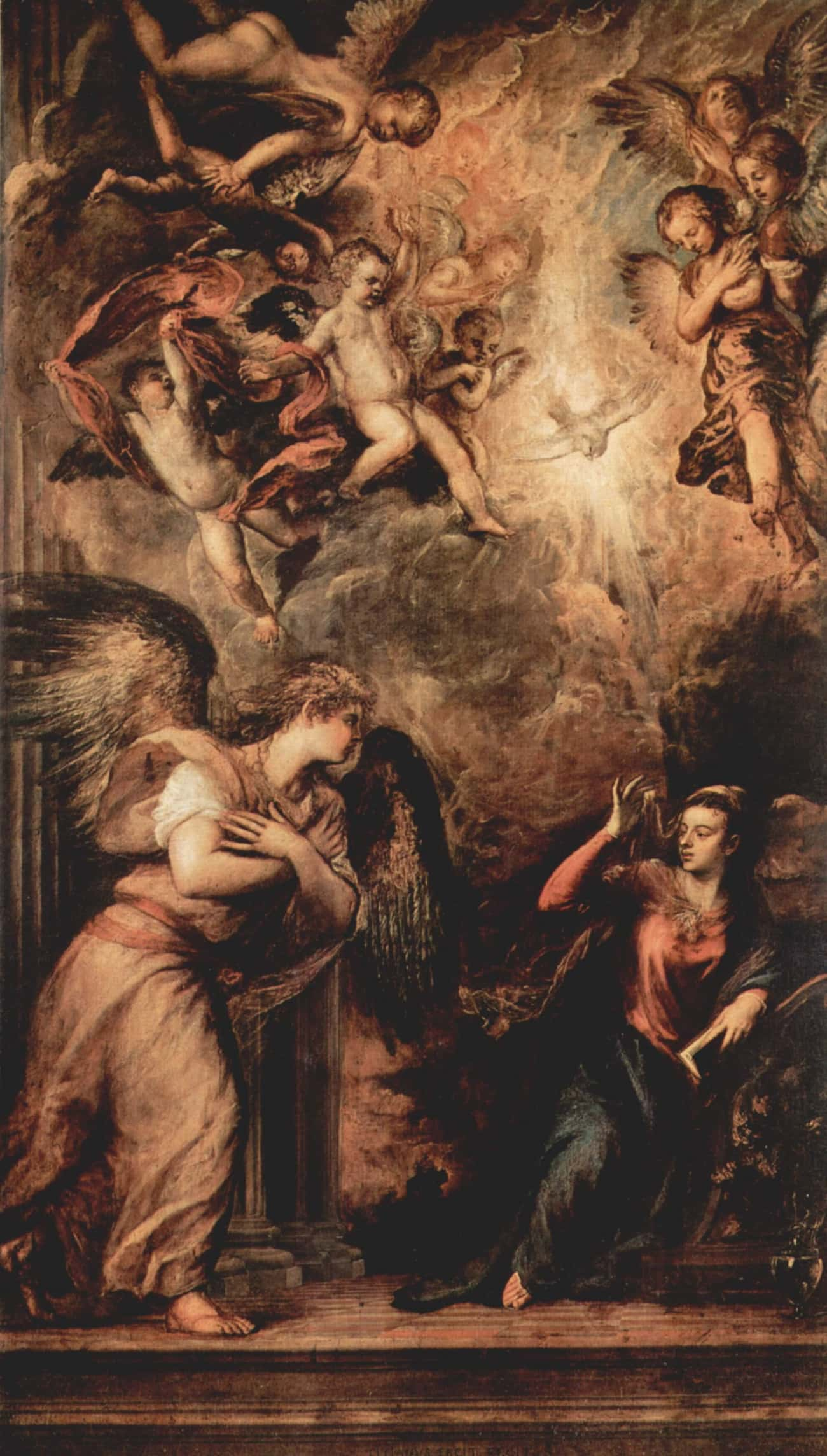 Annunciation is listed (or ranked) 2 on the list Famous Italian Renaissance Paintings