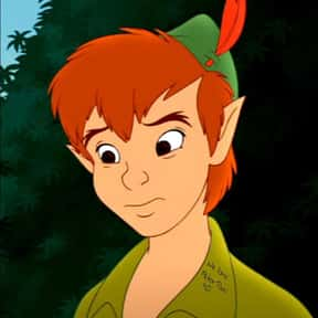 Peter Pan is listed (or ranked) 2 on the list Fictional Characters Named Peter