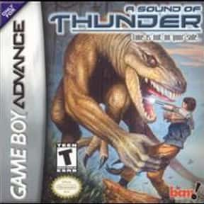 A Sound of Thunder is listed (or ranked) 2 on the list Nintendo Game Boy Advance Games