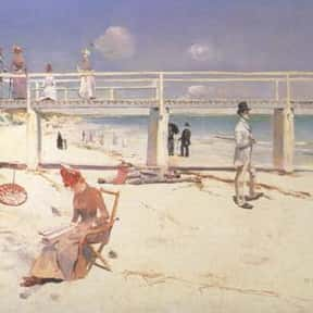 Charles Conder is listed (or ranked) 20 on the list Famous Artists from Australia