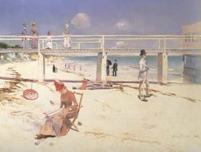 Charles Conder is listed (or ranked) 2 on the list Famous Heidelberg School Artists