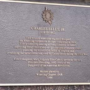 Charles Ellet, Jr. is listed (or ranked) 23 on the list Famous People Who Died in Memphis