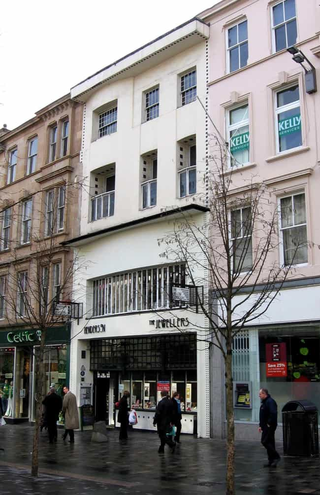 Charles Rennie Mackintos... is listed (or ranked) 4 on the list Art Nouveau Architects