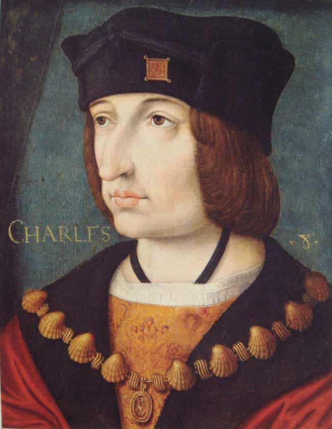 Charles VIII of France ... is listed (or ranked) 4 on the list The Stupidest, Least Dignified Ways Royals Have Died