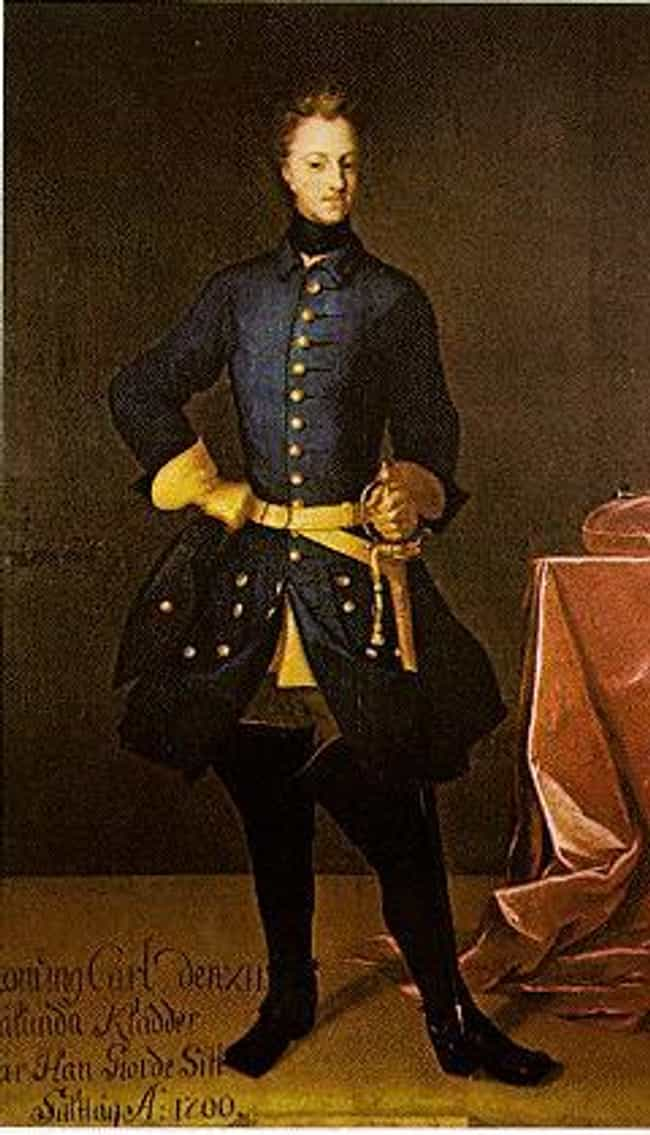 Charles XII of Sweden is listed (or ranked) 3 on the list Members of the House Of Wittelsbach