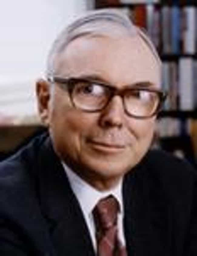 Charlie Munger is listed (or ranked) 2 on the list The Top Berkshire Hathaway Employees