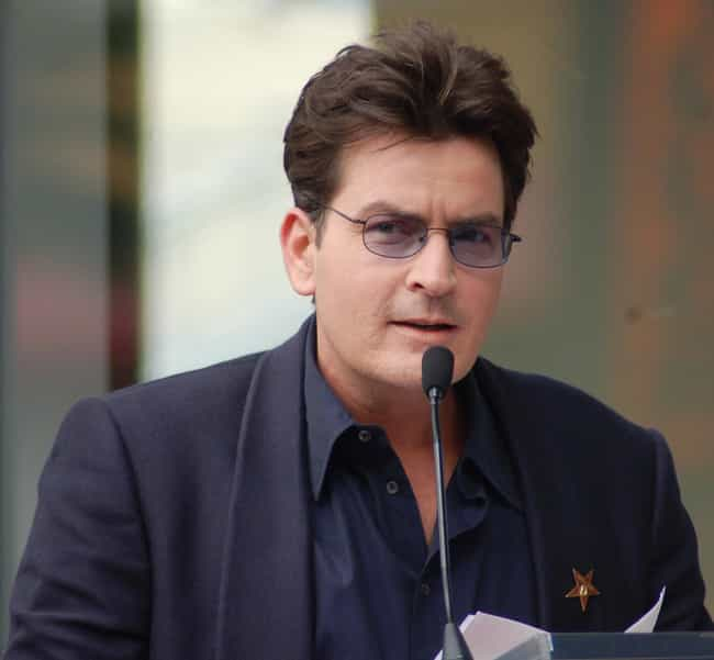 Charlie Sheen is listed (or ranked) 1 on the list Celebrities Banned From Places